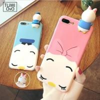 Cute Couple Donald Disney Squishy Case Casing Iphone 6s 6 plus, 7 plus
