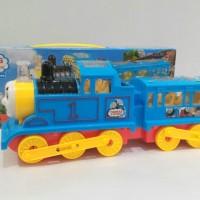 Jual Mainan Anak Kereta Thomas 3D Flash Electric With Light & Sound Murah