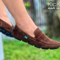 sepatu slip on kickers jevin original premium 4 warna 39-44 import 8cdc22e3e0