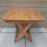 meja lipat belajar kayu(kecil)
