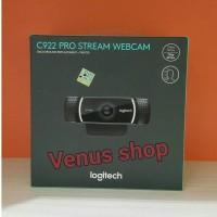 LOGITECH WEBCAM C922 PRO / WEBCAM C 922 PRO STEAM HD 1080P ORIGINAL
