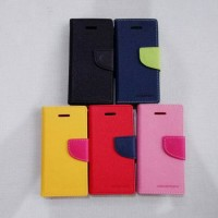 Book Cover Flip Case Wallet Mercury Goospery Fancy Diary Iphone 5C