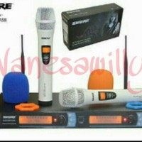 Mic Microphone Wireless SHURE BLXC5/BETA 58A Professional Mik Mikropon