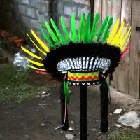 Topi Indian,Topi Apache Rasta Small Monte
