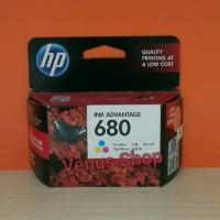 HP TINTA 680 COLOR / HP INK ADVANTAGE 680 WARNA ORIGINAL