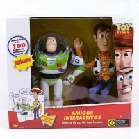 Thinkway Toys Toy Story Interactive Buzz Lightyear & Woody