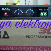 EQUALIZER TARGA HEQ-30-2 PROFESIONAL SOUND SYSTEM 30 BANDS
