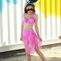 Jual Lingerie bikini terbaru big size baju renang satu set new SLI429 Murah