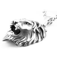 Harga op3865 lion pendant necklace liontin bandul kalung pria singa kode | Pembandingharga.com