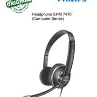 Headphone Komputer Philips  SHM 7410/ SHM7410 Hitam (ORIGINAL)