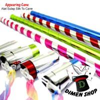 Appearing Cane | Alat Sulap | Tongkat Sulap| Silk To Cane | Dimen Shop