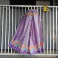 celana kulot batik model cutbrey warna sofh