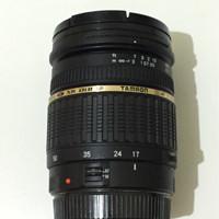 Lensa Tamron 17-50mm/f2.8 for Canon DSLR