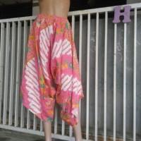 celana kulot batik merk hap model geet