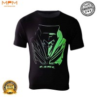 CBR T-Shirt Kaos Resmi Honda Genuine Apparel Glow In the Dark