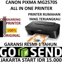 CANON MG2570S PRINTER PIXMA MG 2570s ALL IN ONE MURAH