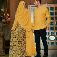 harga Baju Couple Muslim Terbaru Batik Sarimbit Modern Seragam Pesta Hijab Tokopedia.com