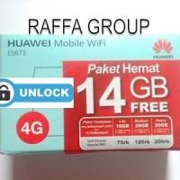 Jual MiFi Modem WiFi Router 4G UNLOCK Huawei E5673 Free Telkomsel 14GB Murah