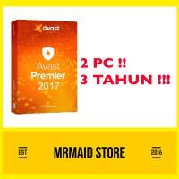 Antivirus Avast Premier 2 PC 3 Tahun