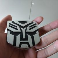 Jual Emblem Tempel / Sticker Mobil Transformers (Bahan Besi) Murah