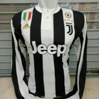 Jersey Grade ori Juventus Home Longsleeve 2017 2018 fullpatch scudetto