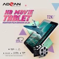 "Tablet Advan T2K (7"" - Wifi Only - 512 MB RAM - 8GB ROM) Garansi Resmi"