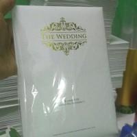 Undangan Pernikahan Elegan Single Hardcover - Yuyun & Wawan - Bogor