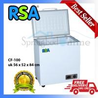RSA CF-100 Chest Frezeer Lemari Pendingin Freezer Box 100 liter