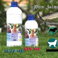 Dog & Cat Raw Food - Pure Salmon Oil 1027ml - Buy 3 Get Free 2 (3+2)