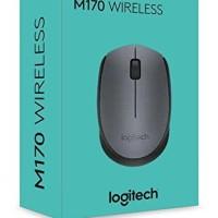 Mouse Wireless Logitech Terbaik Berkualitas M170 Wireles Murah 2.4 GHz
