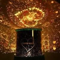 Lampu Tidur Proyektor Star Master - STAR MASTER bisa putar + musik
