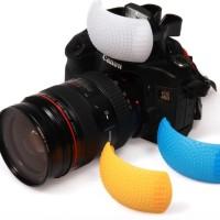 Diffuser Pop Up Flash Internal 3 In 1 DSLR Camera Canon Nikon Sony Dll