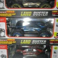 Rc Offroad 4wd Truggy Land Buster skala 1:12 body warna biru