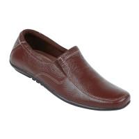 Sepatu Pria Bahan Kulit uo 0804 Zeintin