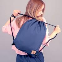 (NAVY) Tas Serut String Bag Drawstring Bag