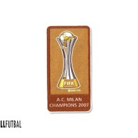 2007 FIFA CLUB WORLD CHAMPIONS PATCH BADGE FOR AC MILAN JERSEY