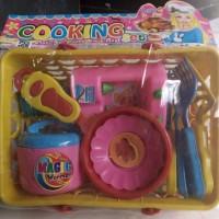 Mainan Mini Kitchen Set Keranjang