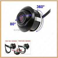 Kamera Mobil 360 Derajat CCD, untuk Kamera Depan, Samping & Belakang