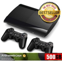 Sony PS3 Super Slim 500GB isi Games Original