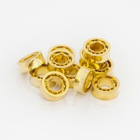 Bearing Yoyo size C Gold (stainless steel) 10 ball - NEW