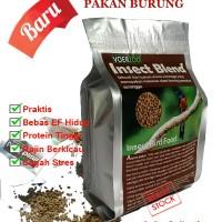 Voerzoo Insect Blend 225gr - Pakan Murai Batu, Kacer, Ciblek Dll