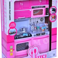 Jual Modern Kitchen Set Mainan Anak Perempuan Pink Terlaris Murah