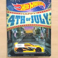 HOT WHEELS NISSAN 350Z WAL-MART HAPPY 4TH OF JULY 2014 #01/06 - R1