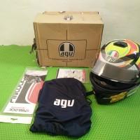 Helmet AGV K3 SV Elements Rossi   Helm Visor Fullface   SNI Asian Fit