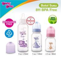 Jual Botol Susu Bayi Premium Tahan Panas Anti Pecah (90ml) BPA FREE - 811 Murah