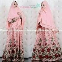 gamis syari hawwa aiwa/hijab baju muslim/maxi/pakaian wanita/cewek