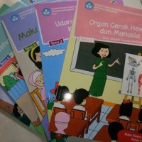 Paket Buku Tematik Kelas 5 SD K2013 revisi 2017 Kemendikbud