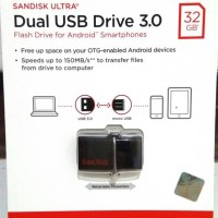 harga Flashdisk Otg Dual Drive Usb Sandisk 32 Gb. Original Tokopedia.com