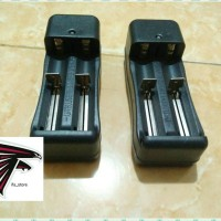 Charger Baterai 2 Slot / Desktop 2 Slot For Batre 18650 / 18350 Vape