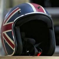 Jual Helm Retro Classic Bogo England Bendera Inggris Murah